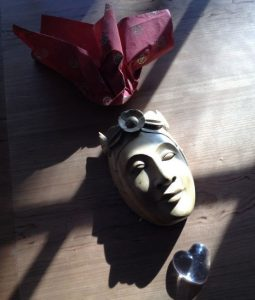 Mask of serenity